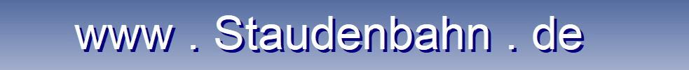 Logo von Bahnbetriebsgesellschaft Stauden mbH